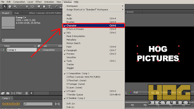 Pengenalan Adobe After Effects - Membuat Komposisi dan Layer Teks