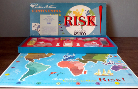 Risk first version 1959 - box opened