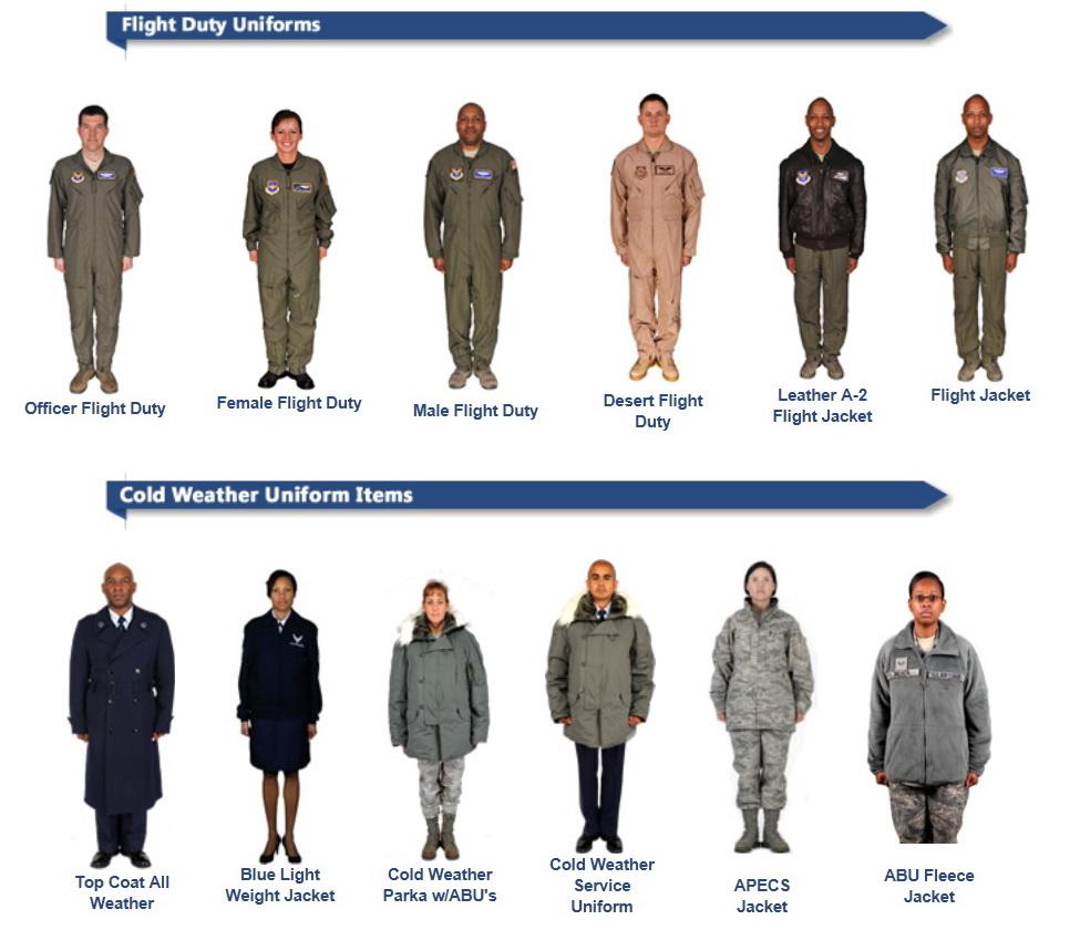 Air Force Class C Uniform