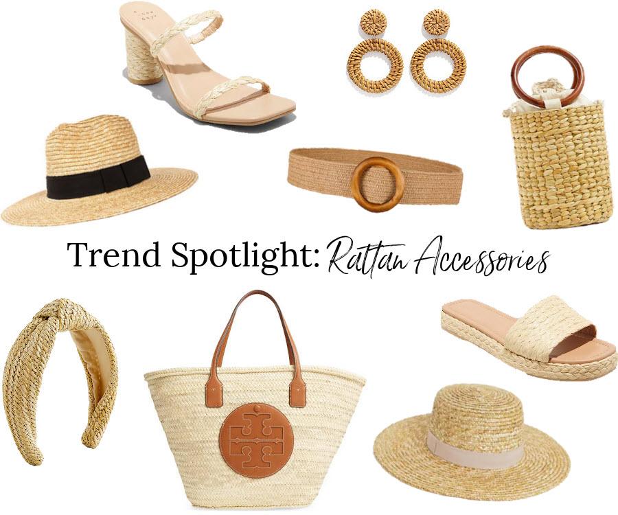 Trend Spotlight: Rattan Accessories