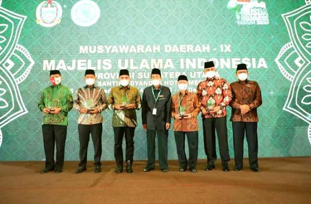 Kapolda terima Award sebagai tokoh peduli MUI