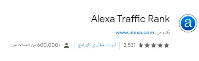 تحميلAlexa Traffic Rank