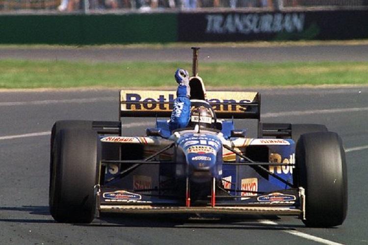 Damon Hill Juara Dunia Formula 1 1996