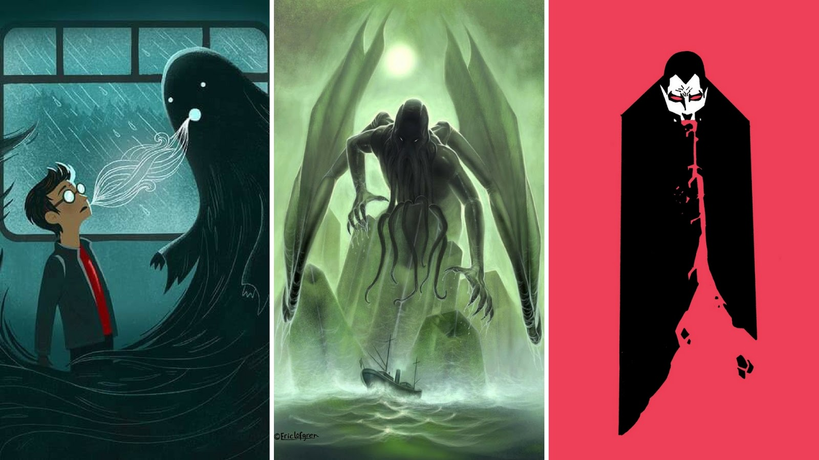 Especial Halloween | Monstros Clássicos da Literatura