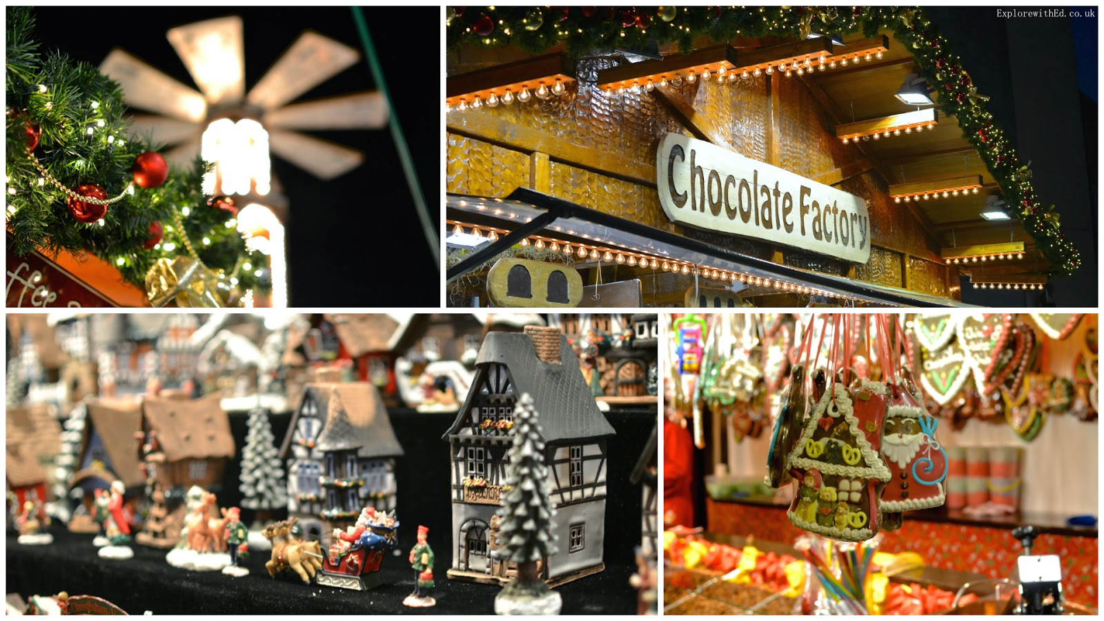 Market stalls in Bristol