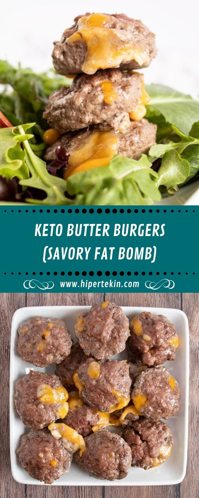 KETO BUTTER BURGERS (SAVORY FAT BOMB)