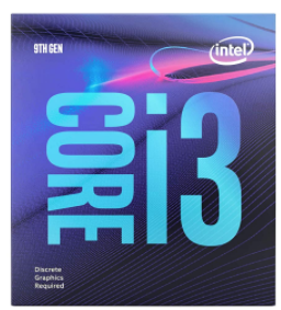 Intel Core i3-9100F 9th Gen Desktop Processor 4 Core Up to 4.2 GHz LGA1151 300 Series 65W (Discrete Graphics Required)