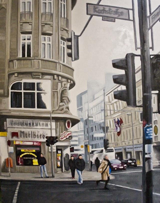 Южноафриканский художник. Alex Marmarellis