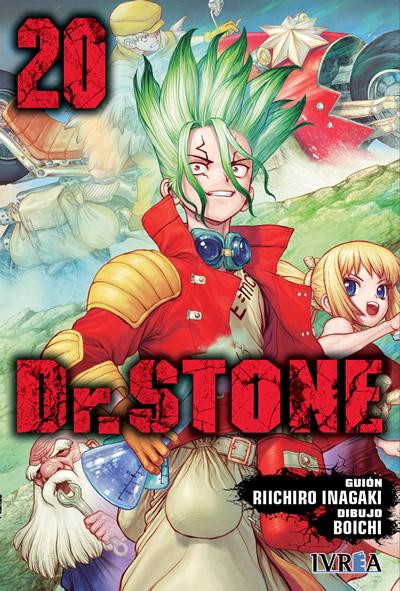 Reseña de Dr. STONE vol. 20 de Riichiro Inagaki y Boichi - Ivrea