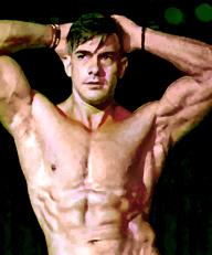 Alex Male Stripper