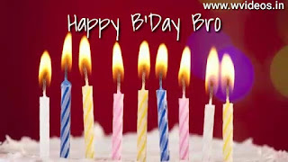 Happy Birthday Wishes For Brother Whatsapp Status Video Download