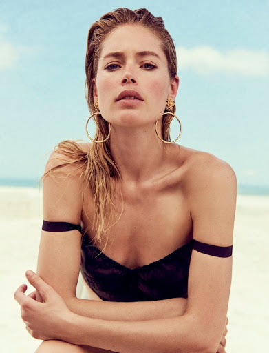 Doutzen Kroes Vogue Magaine Ukraine June 2017 Photoshoot