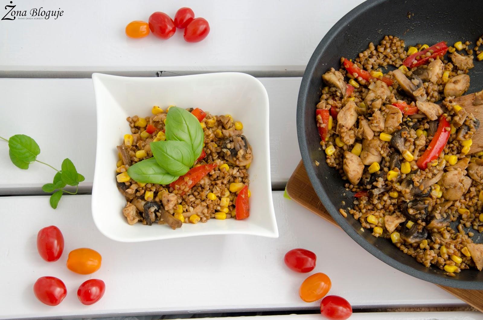 Mój powrót do zdrowego odżywiania + fit przepis na obiad