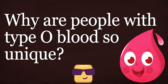 People Of Blood Type O Special