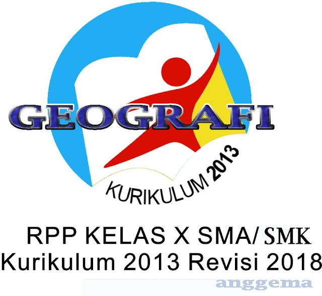 RPP Geografi kelas 10 SMA/SMK Kurikulum 2013 Revisi 2018