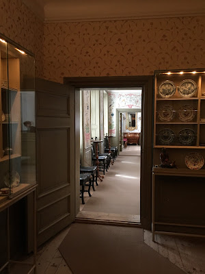 The Linnaeus Museum - first floor.