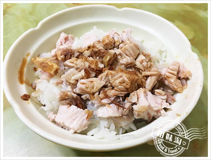 嘉義阿明雞肉飯-嘉義在地人推薦的雞肉片飯