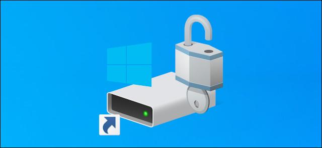 محرك أقراص النظام C: اختصار على سطح مكتب Windows 10