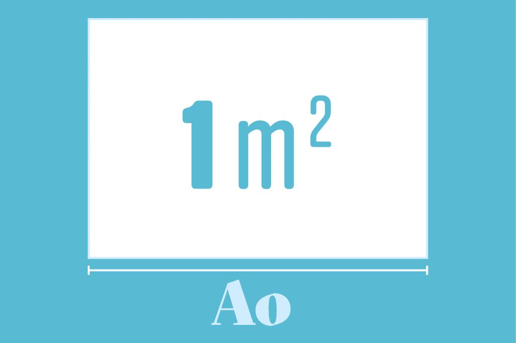 tamanho do papel2 - A incrível relação entre o papel A4 e o tamanho da Terra