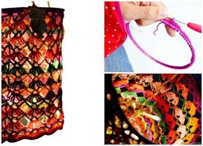 Cómo tejer un farolillo a crochet para fiestas