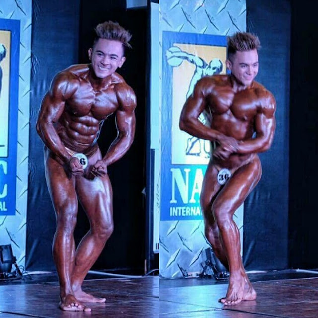 Mr. Phil-Asia International Junior Bodybuilding Champion - stace cervantes