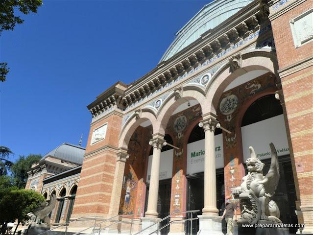 museo arte moderno del Retiro es gratis