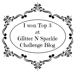 I Won Top 3 at Glitter and Sparkle