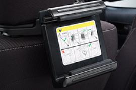 Porta tablet Toyota Yaris