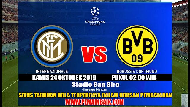 Liga Champions : Intermilan VS Borussia Dortmund Dini Hari Nanti