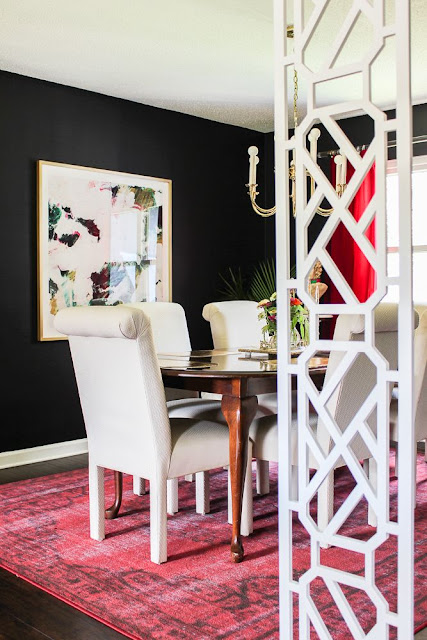 How to make a DIY room divider.