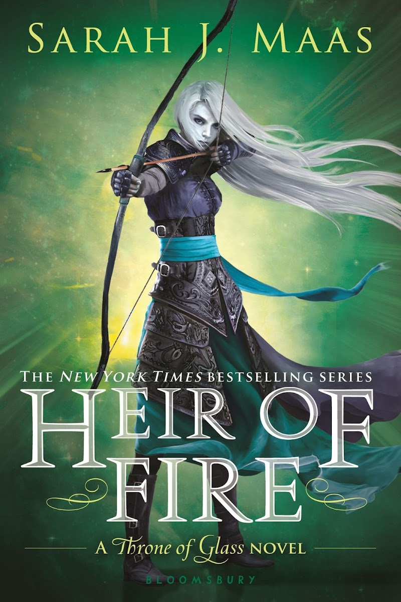 Review: Heir of Fire (Throne of Glass #3)  by Sarah J Maas