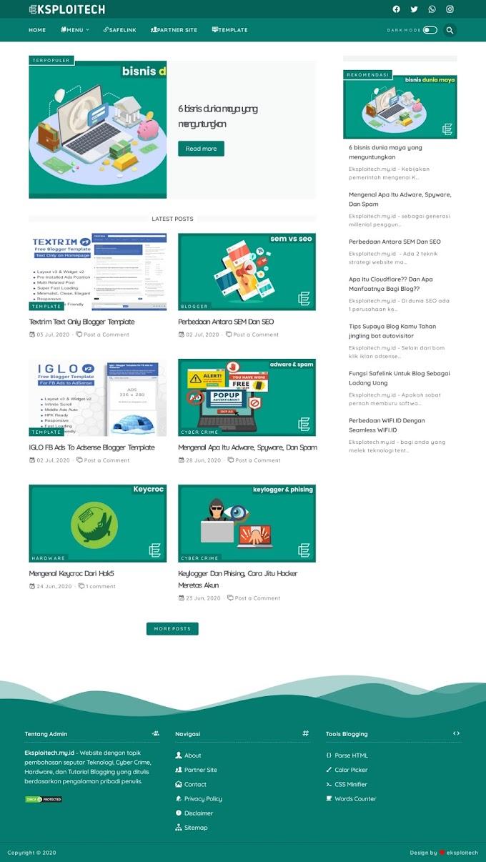Blog Eksploitech Berbagi Informasi Teknologi, Menarikkah?