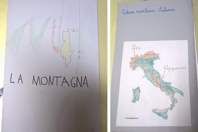 Montagne italiane e homeschooling