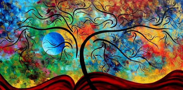 abstrakte-kunst-ein-baum-in-vielen-farben