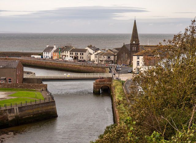 Photo of looking along the River Ellen towards the Solway Firth from The Settlement