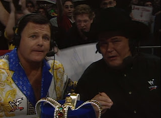 WWF Insurrexion 2000 - Jim Ross & Jerry 'The King' Lawler