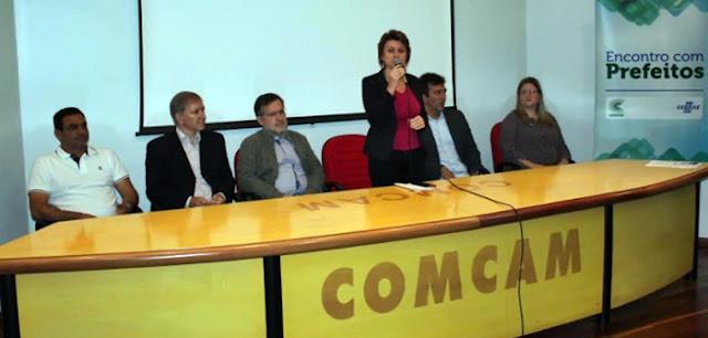 Encontro na Comcam discute estratégias de desenvolvimento econômico nos municípios