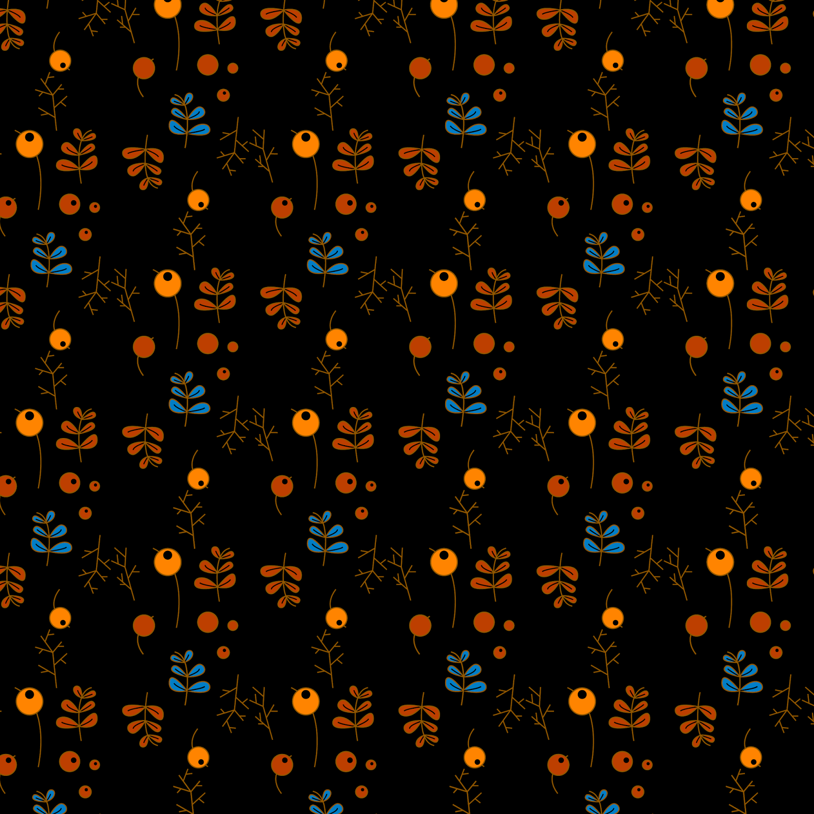 Autumnal pattern - Jen Haugan Animation & Illustration