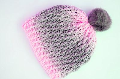 2 - Crochet Imagen Gorro gris a crochet y ganchillo muy fácil y sencillo por Majovel Crochet