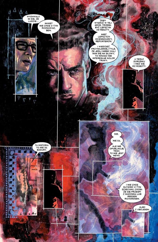 Daredevil tom 1: Nieustraszony! przykładowa strona