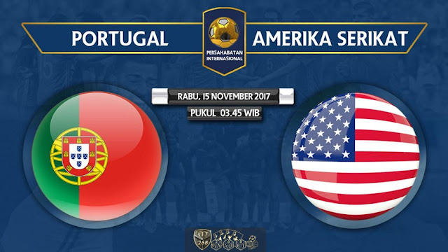 Prediksi Bola : Portugal Vs USA , Rabu 15 November 2017 Pukul 03.45 WIB