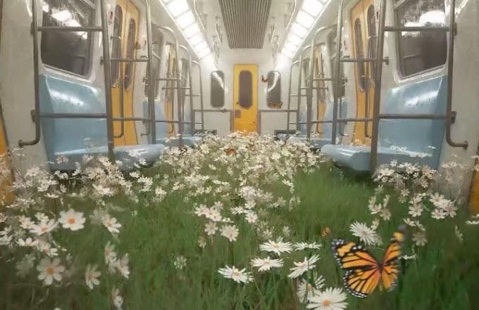 Η φύση κυριεύει τα άδεια τρένα, τις πόλεις και τα μουσεία της καραντίνας!