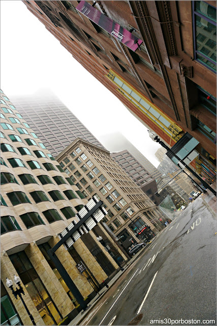 Calle del Centro Financiero de Boston