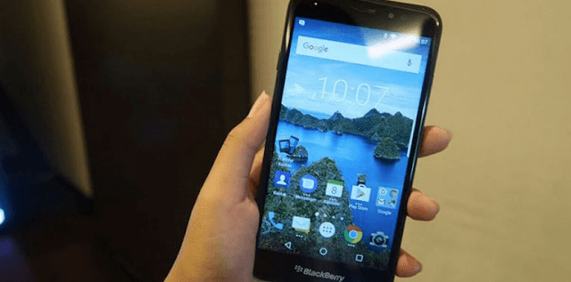 Cara Screenshot Android BlackBerry Aurora Tanpa Aplikasi