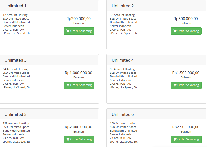 Review Unlimited Hosting Hoster.co.id