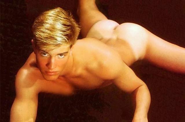 blonde twink naked tan lines