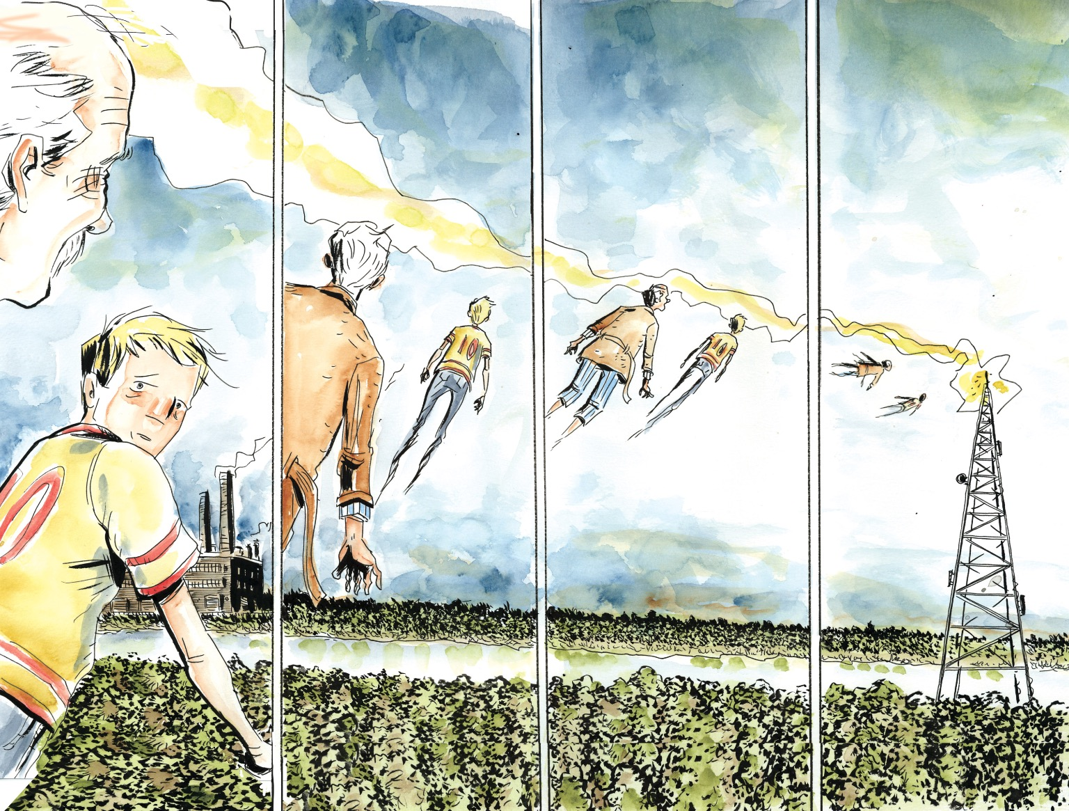 Image result for jeff lemire royal city