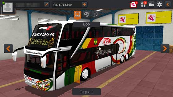 SDD Kualitas Jernih MOD BUSSID By MD Creation Koleksi Livery JB2+ SDD Kualitas Jernih MOD BUSSID By MD Creation