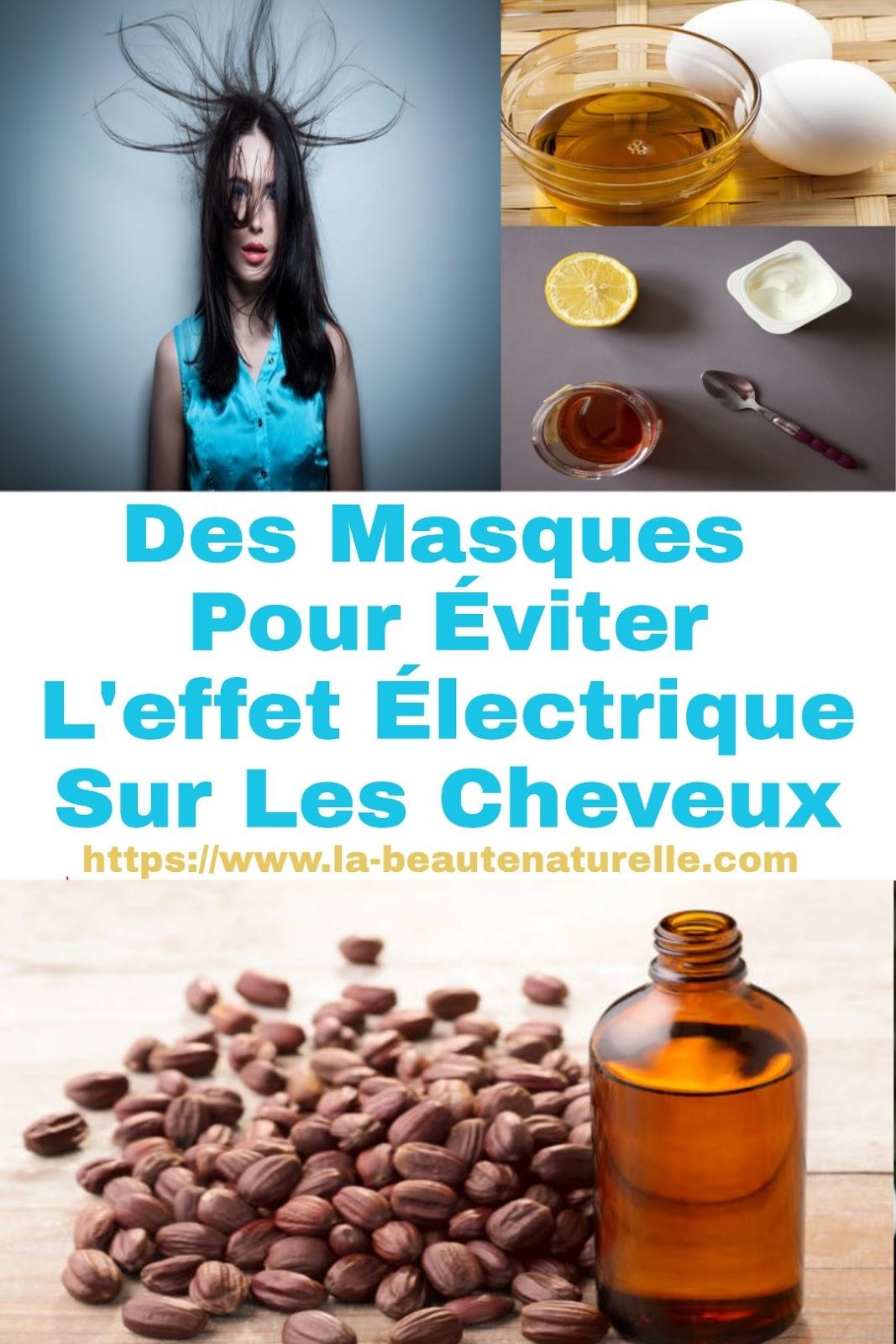 Des Masques Pour Éviter L'effet Électrique Sur Les Cheveux