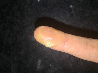 Texture du beurre de gommage argan et prune pour le visage de la Box Formule Beauté de septembre 2019